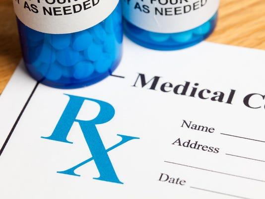 Medication Prescription and Pill Bottles