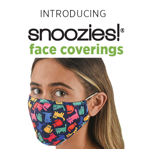 Snoozies Cloth Face Mask Covering
