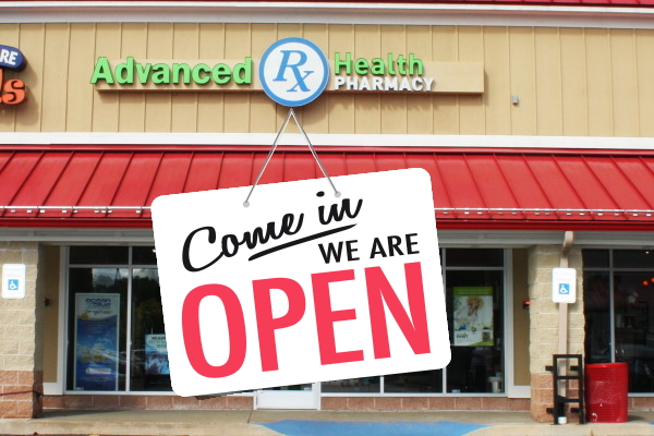 Store is open for Walk-Ins