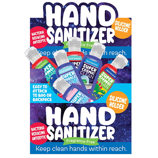 1oz bottle of hand sanitizer