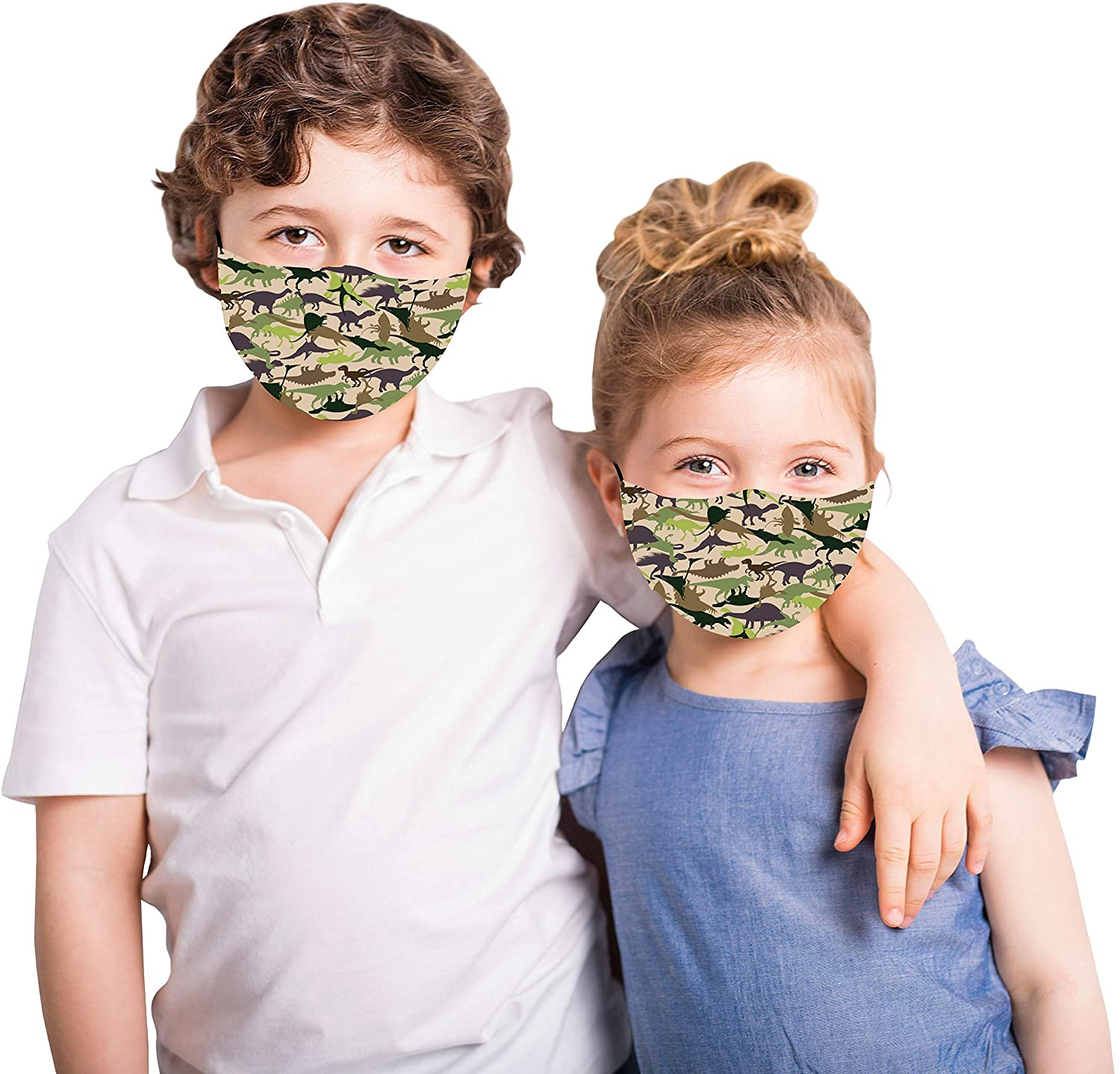 Dino Snoozies Cloth Face Mask