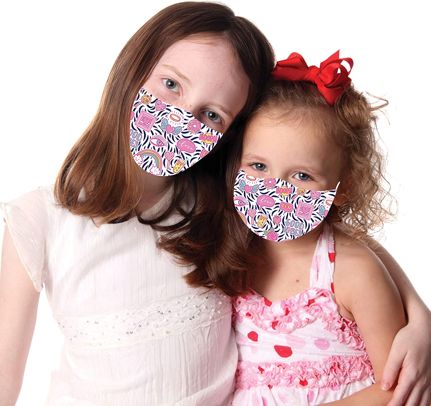 Snoozies Good Vibes Kids Face Mask